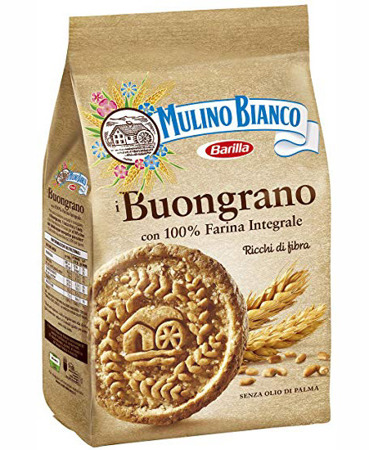 Barilla Mulino Bianco Buongrano - ciasteczka z mąki pełnoziarnistej 350g