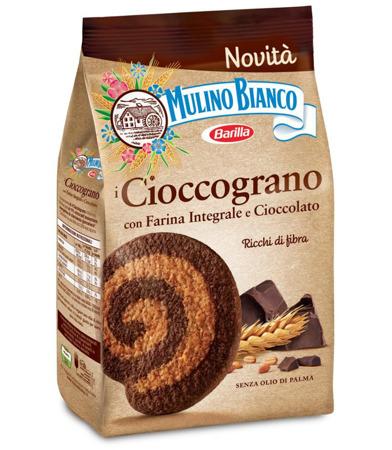 Barilla Mulino Bianco Cioccograno - ciasteczka z mąki pełnoziarnistej i czekolady 330g