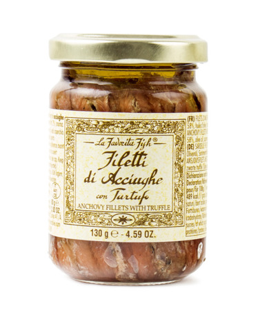 La Favorita Fish Filetti Acciughe con Tartufo - anchois z truflami 130g
